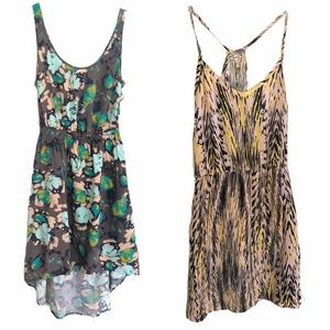 Kirra Set of 2 Summer Dresses With Pockets Size XS